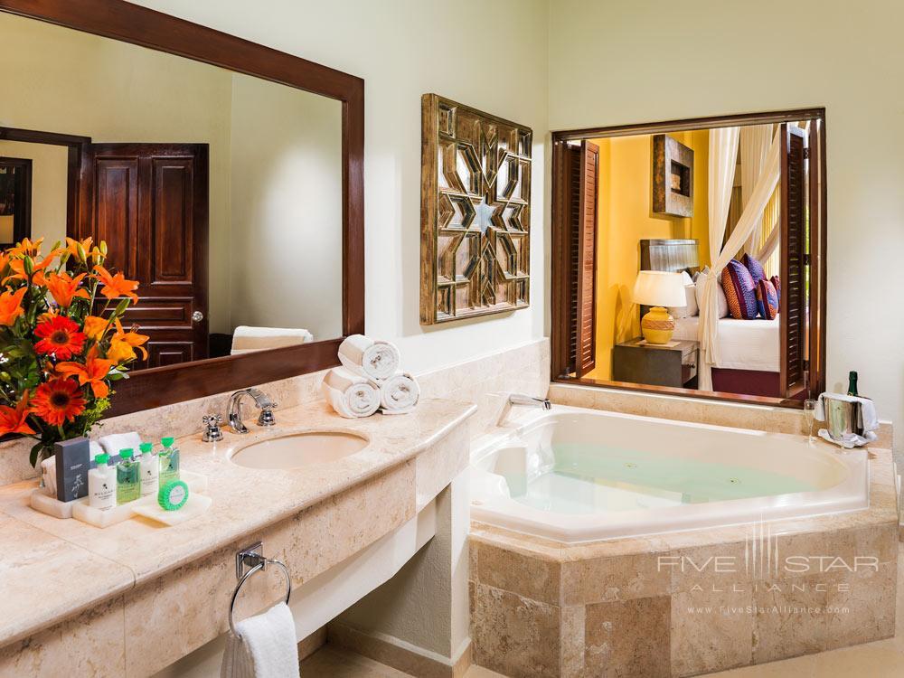 Presidential Suite Coba Restroom at El Dorado Royale Spa Resort