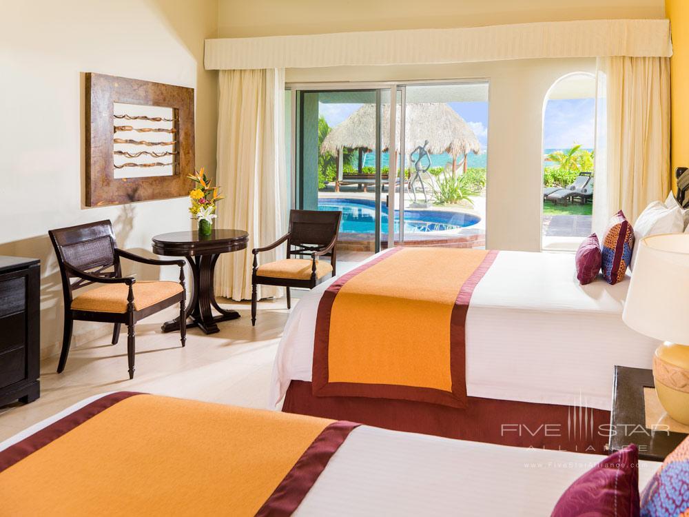 Presidential Suite Coba Second Bedroom at El Dorado Royale Spa Resort