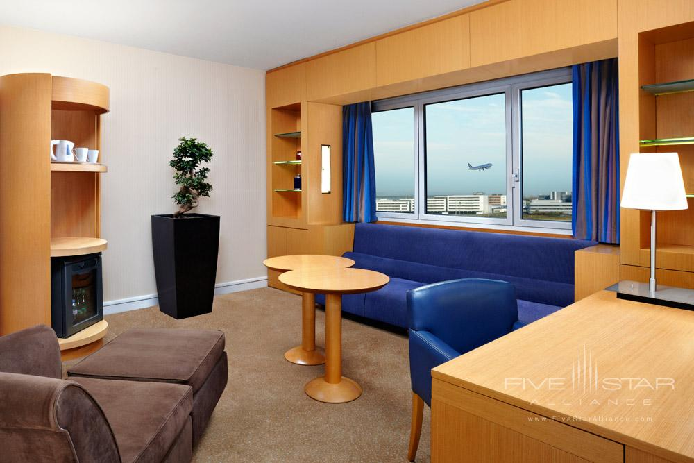 Suite Lounge at Sheraton Hotel Charles De Gaulle Airport RoissyFrance