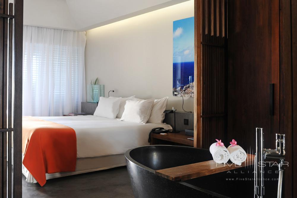 Hotel Le Christopher St Barth Ocean Deluxe guestroom