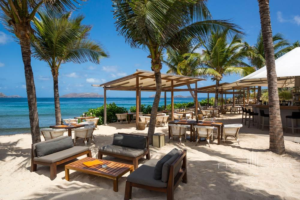 Bar and lounge at Hotel Le Christopher St Barth