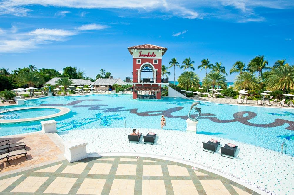 Pool at Sandals Grande Antigua