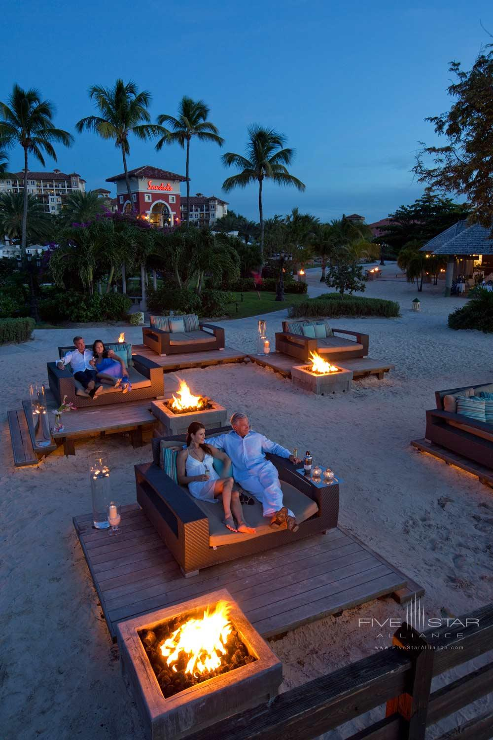Village Fire Pit at Sandals Grande AntiguaSaint JohnsAntigua and Barbuda