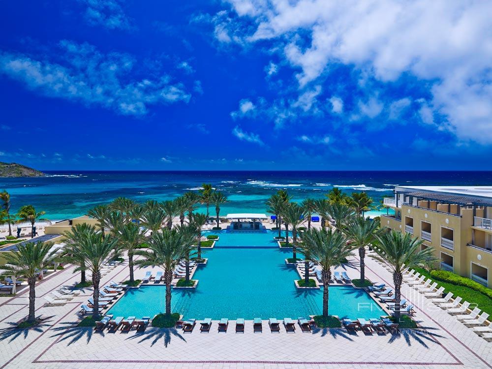 Infinity Pool at Westin Dawn Beach Resort