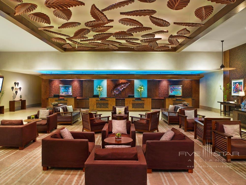 Lobby at Westin Dawn Beach Resort