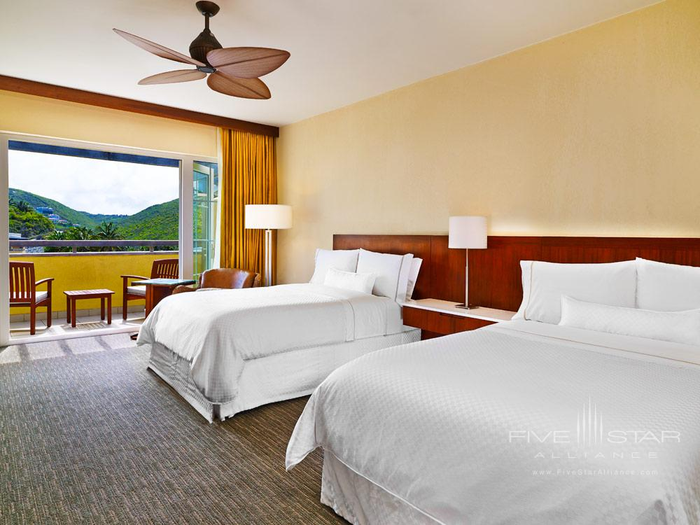Double Guest Room at Westin Dawn Beach Resort