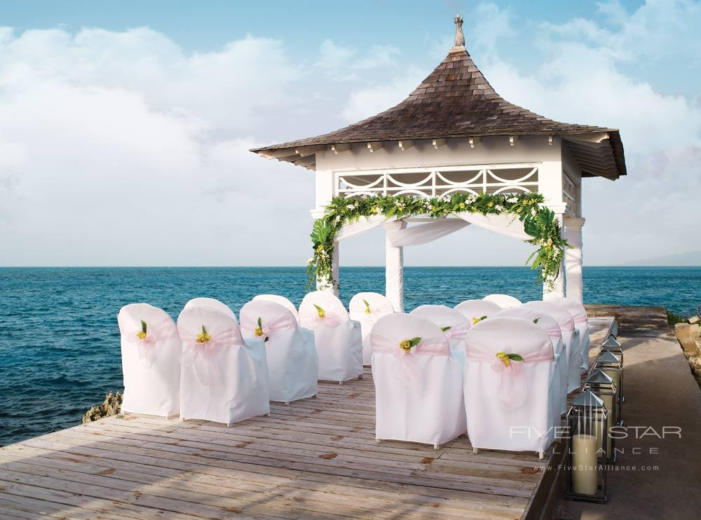 Beautiful Ocean Setting Wedding at Couples Tower Isle All Inclusive Resort