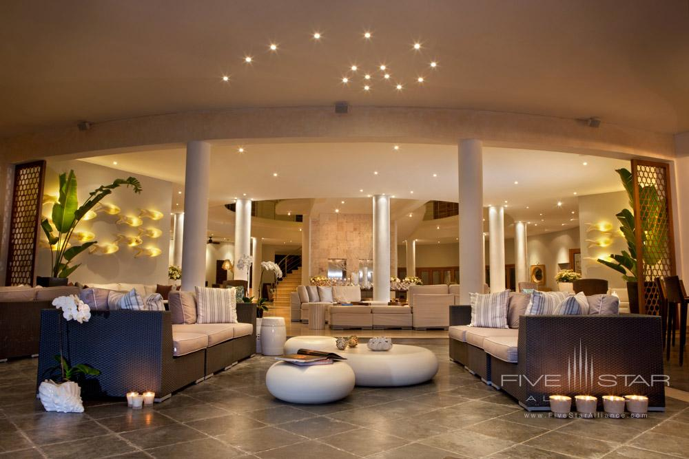 Lobby at The Bannister Hotel, Dominican Republic