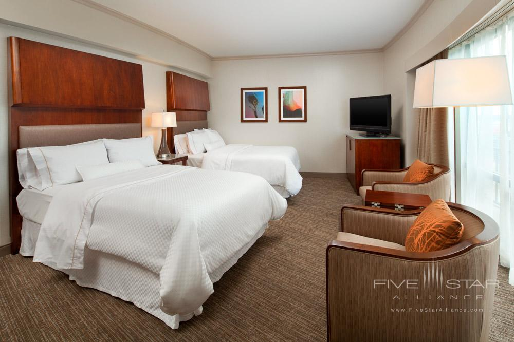 Double Guest Room at Westin Seattle, WA