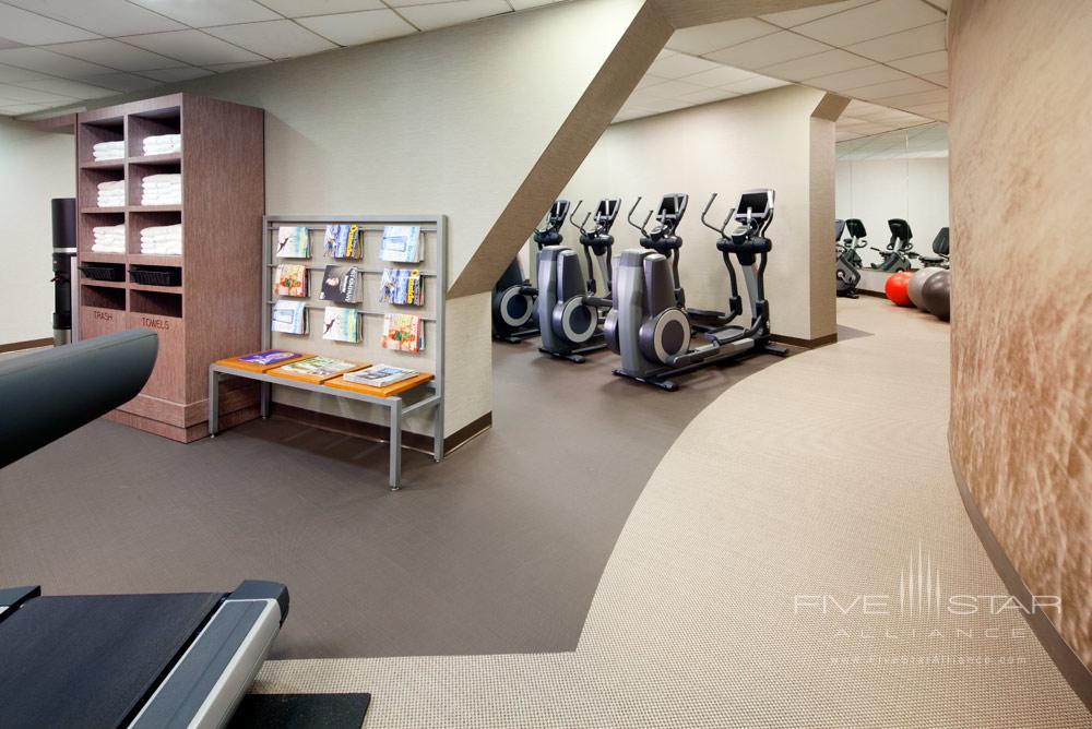 Fitness Center at Westin Seattle, WA