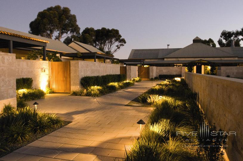 The Louise Courtyard by Night