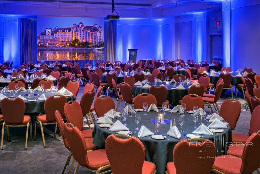 Ballroom at Delta Victoria Ocean Pointe Resort and SpaVictoriaCanada
