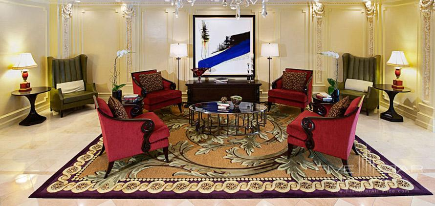 Seating Area at The Churchill Washington DC