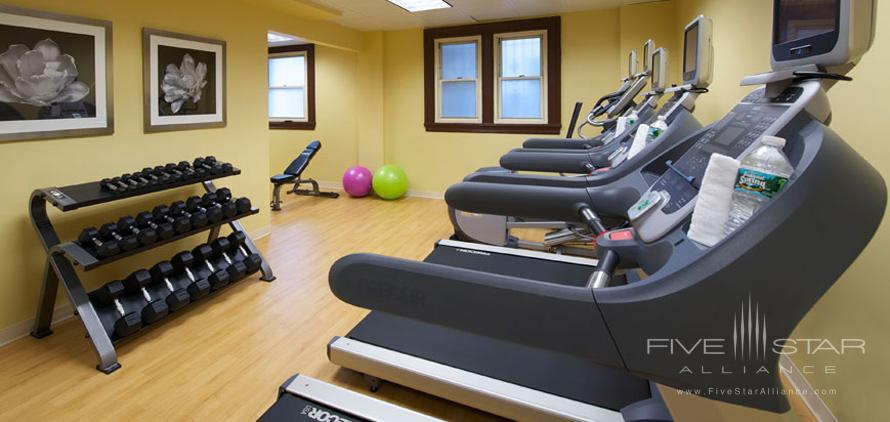 Gym at The Churchill Washington DC