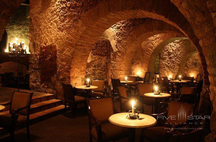 Restaurant and Bar at Hotel Quinta Real ZacatecasMexico