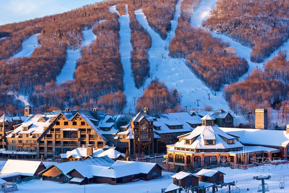 Stowe Mountain Lodge at Winter