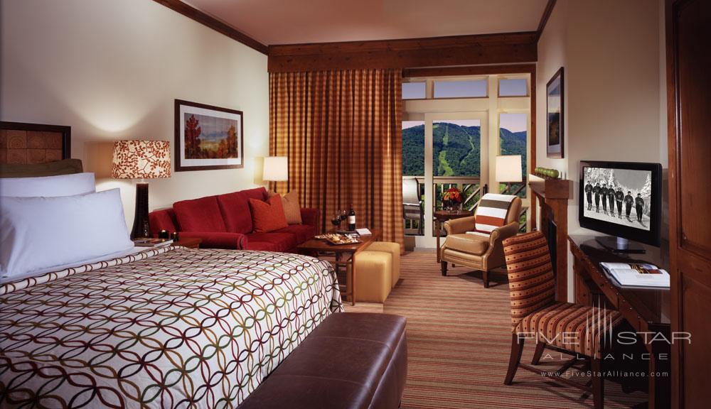 Stowe Mountain Lodge Guestroom