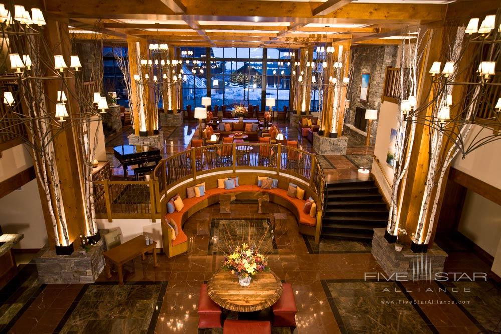 Lobby at Stowe Mountain Lodge