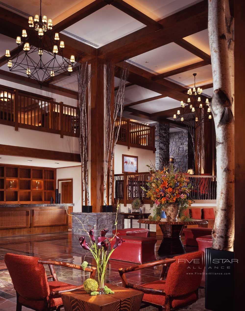 Lounge at Stowe Mountain Lodge