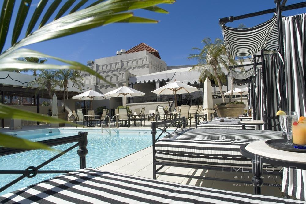 Outdoor Pool at Casa Monica HotelSaint AugustineFL