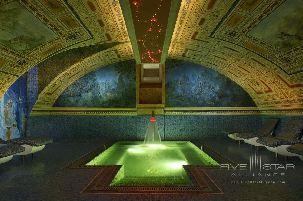 Plunge pool at Byblos Spa