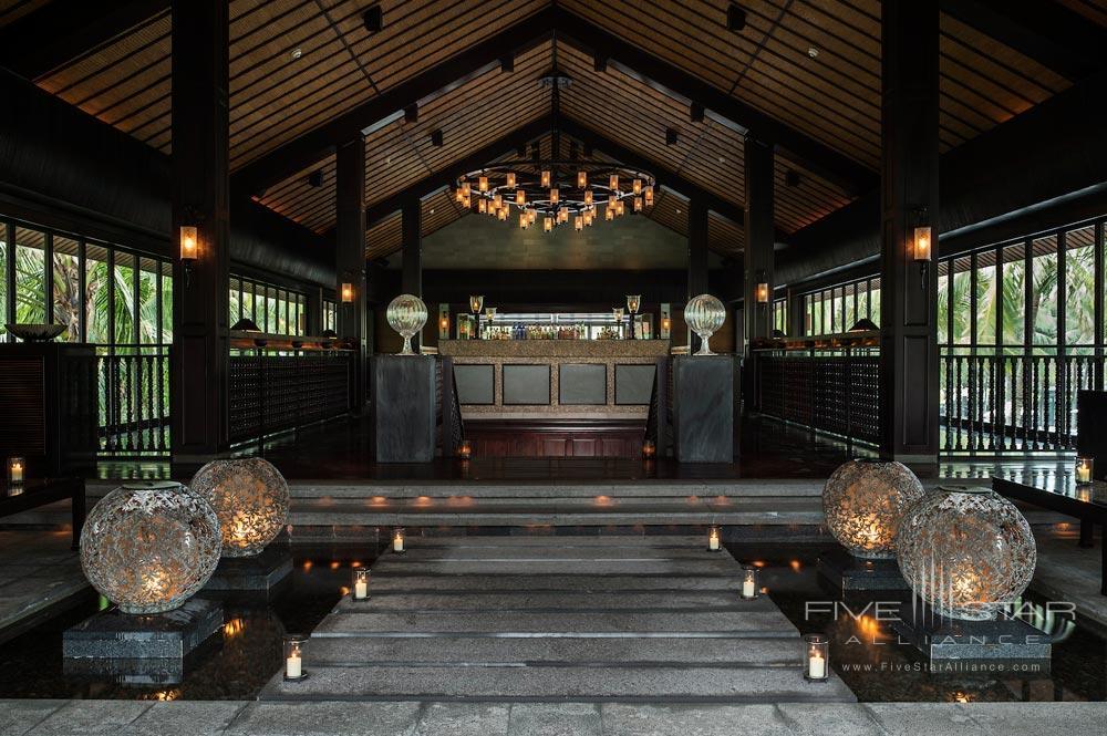Entrance of Bar at Nam Hai Hotel