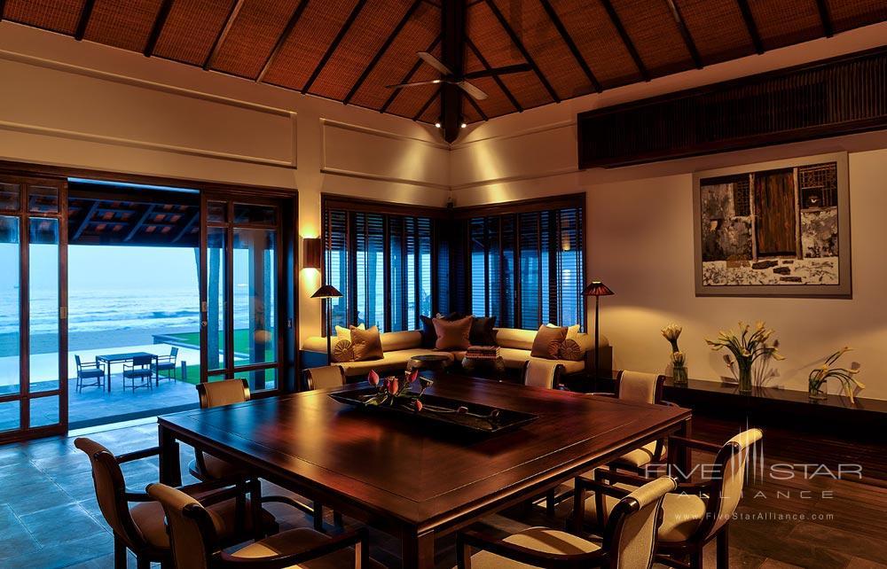 Living Room of 1 Bedroom Villa at Nam Hai Hotel