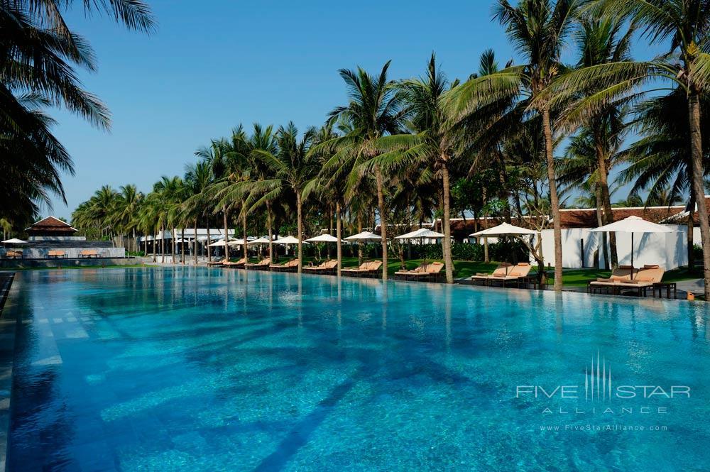 Main Pool at Nam Hai Hotel