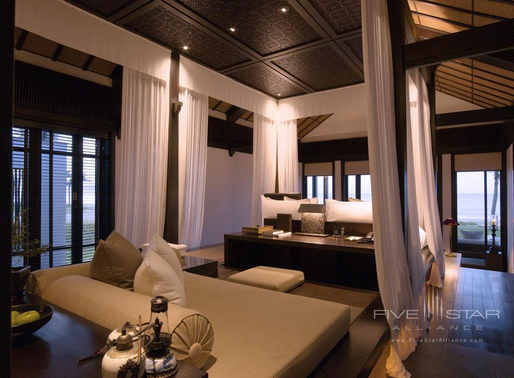 Bedroo of Villa at Nam Hai