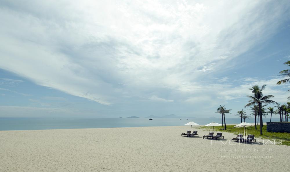 Beach at Nam Hai Hotel