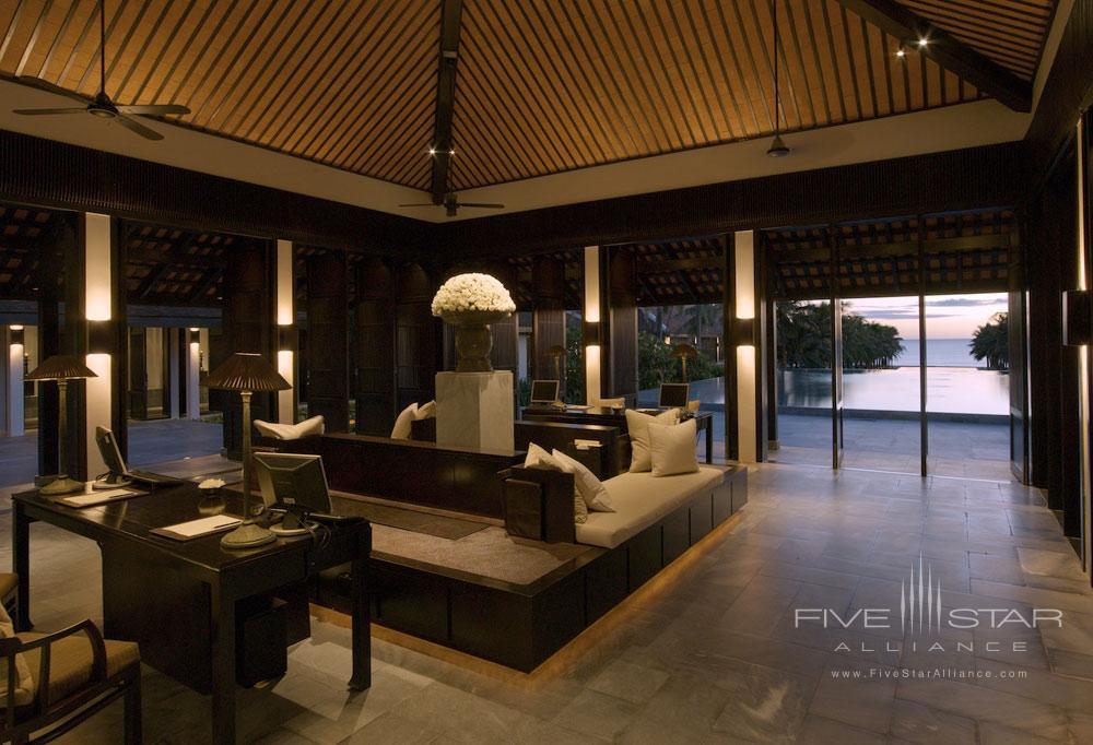 Lobby of Nam Hai