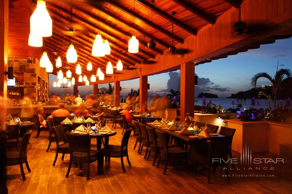 Beach Club Restaurant at Buccament Bay Spa and ResortSaint Vincent and the Grenadines