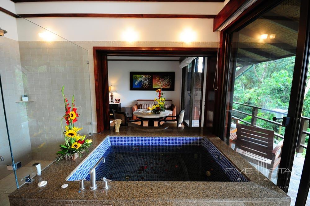 Rain Forest Suite Bath at Tabacon Thermal Resort & SpaLa Fortuna de San Carlos, Alajuela, Costa Rica