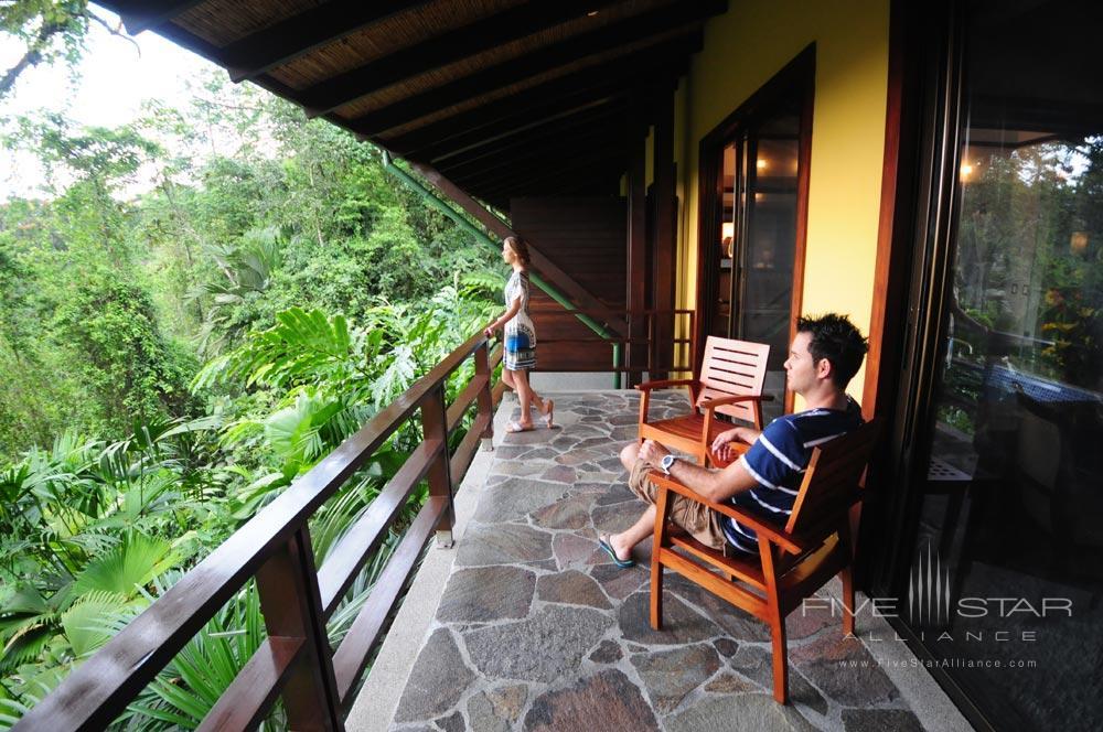 Rain Forest Suite Terrace at Tabacon Thermal Resort & SpaLa Fortuna de San Carlos, Alajuela, Costa Rica