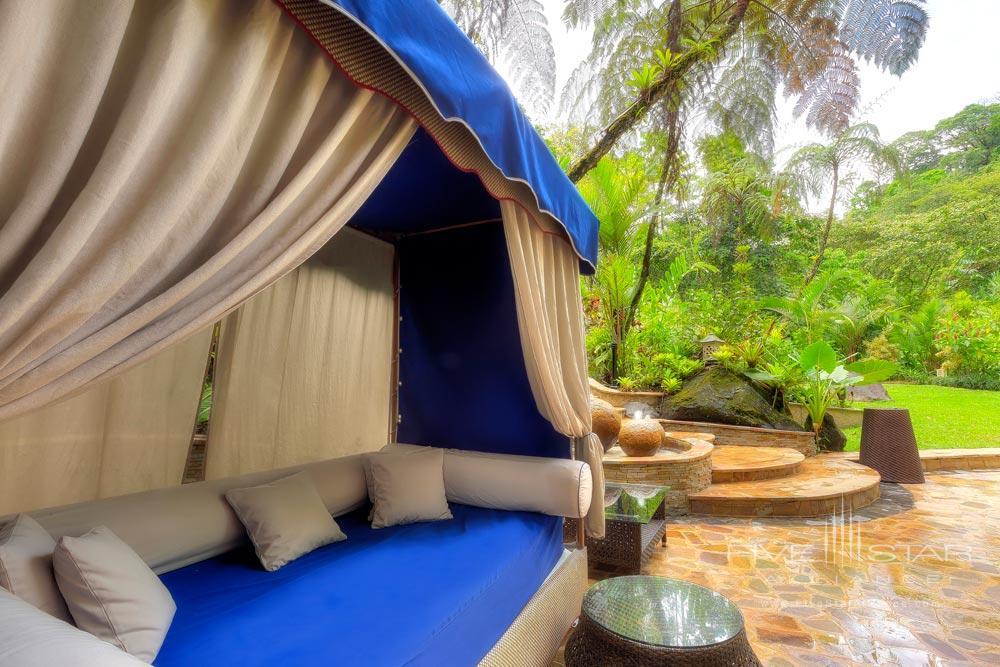 Lounge in Shangri La Gardens at Tabacon Thermal Resort & SpaLa Fortuna de San Carlos, Alajuela, Costa Rica