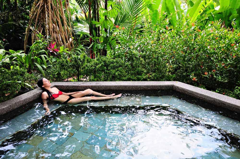 Jacuzzi at Tabacon Thermal Resort & SpaLa Fortuna de San Carlos, Alajuela, Costa Rica