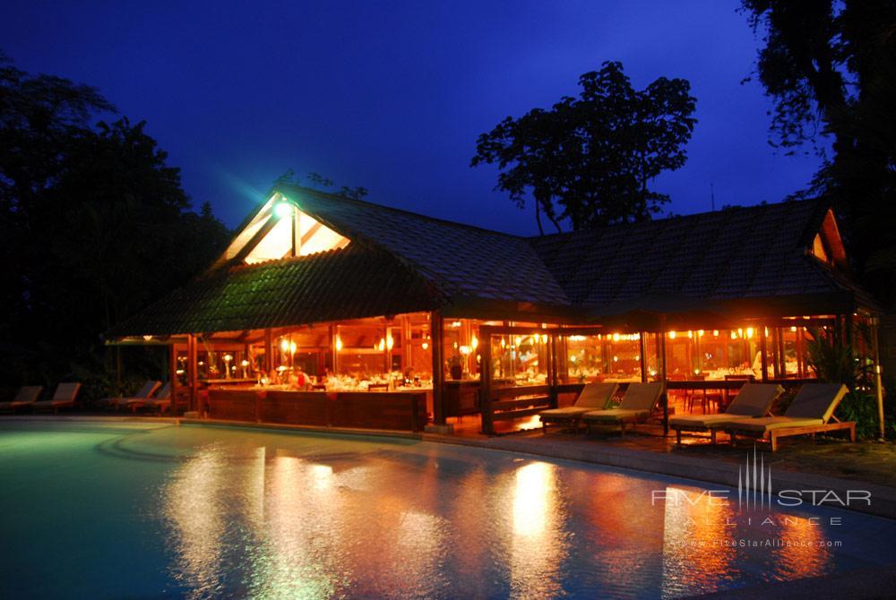 Exterior of Los Tucanes Restaurant at Tabacon Thermal Resort & SpaLa Fortuna de San CarlosAlajuelaCosta Rica