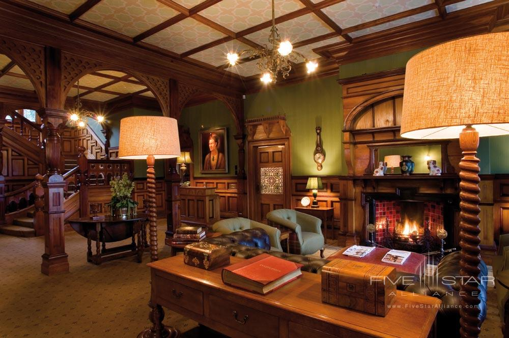 Lounge at Otahuna LodgeNew Zealand