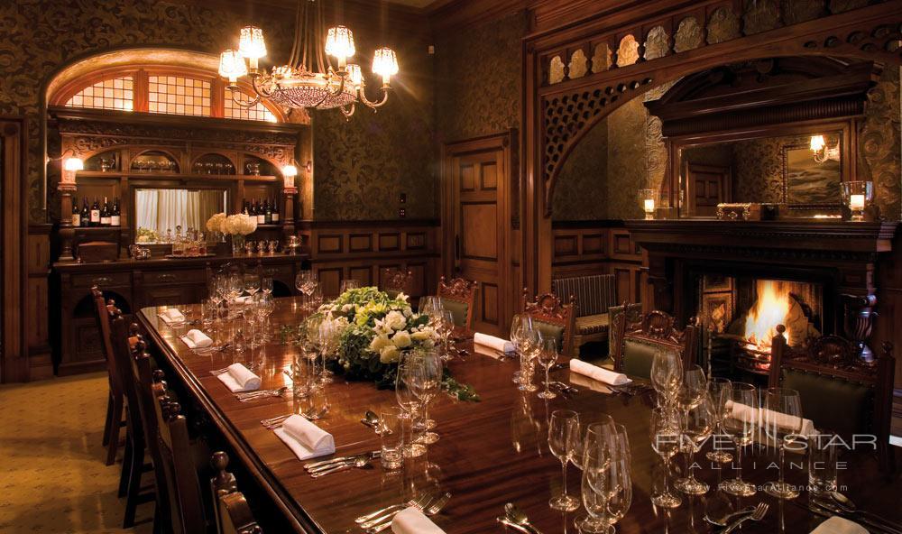 Dining Room at Otahuna LodgeNew Zealand
