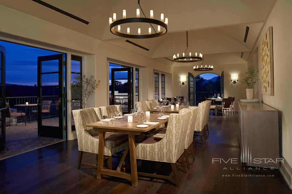 Dining at Ojai Valley Inn and SpaCA