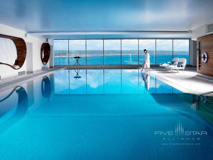 The Cliff House Hotel Ardmore 15 meter indoor swimming pool