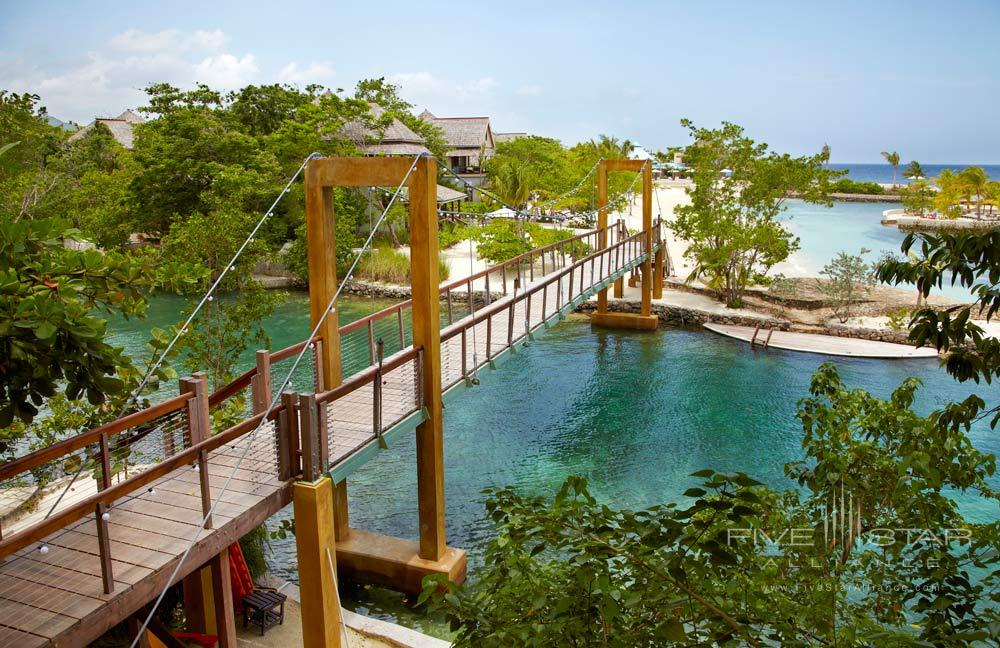 Bridge at GoldenEye Hotel and Resort, St. Mary, Jamaica