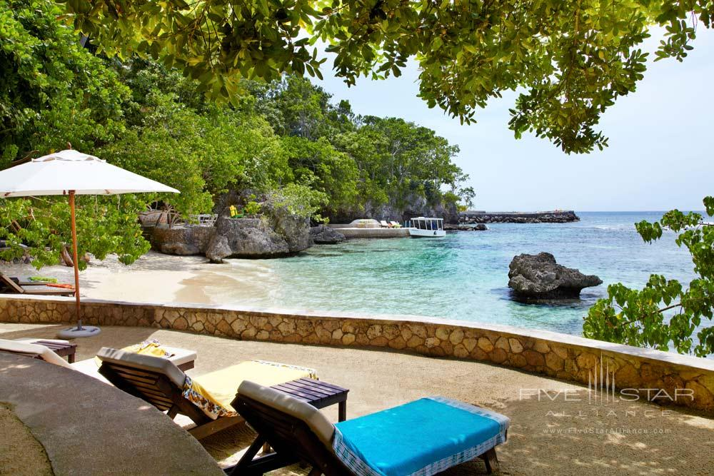Fleming Villa Private Beach at GoldenEye Hotel and Resort St. MaryJamaica