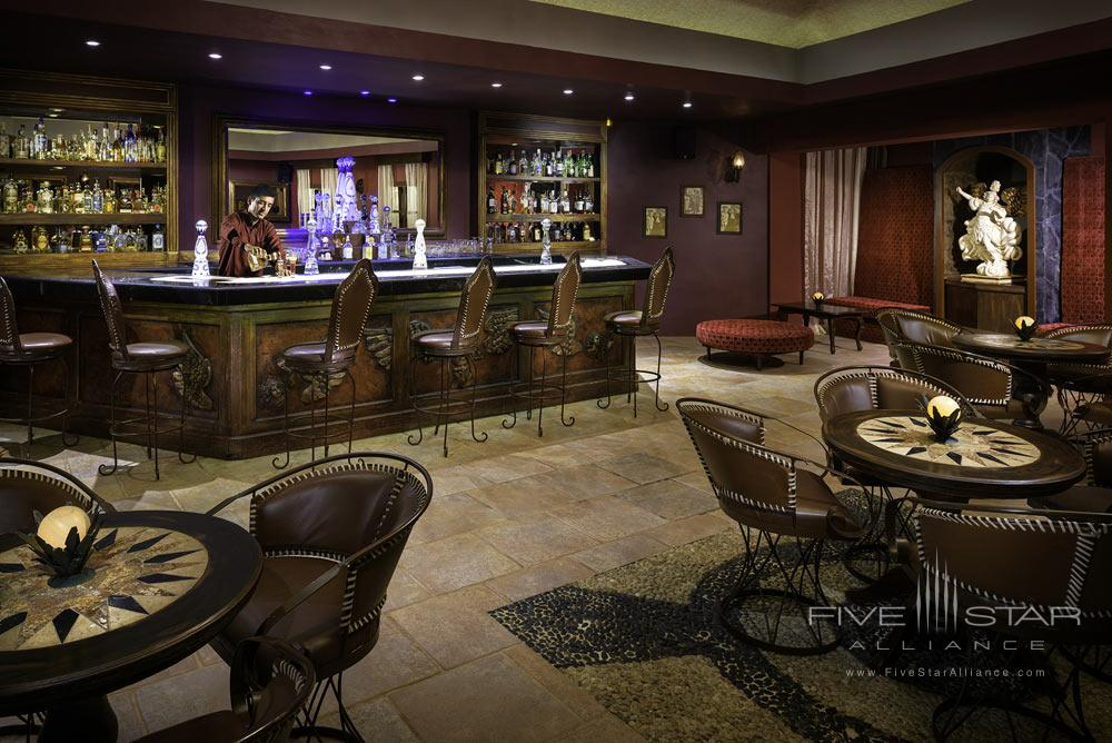 Enjoy a drink at The Tequila Lounge at Azul Beach Resort Riviera May, a