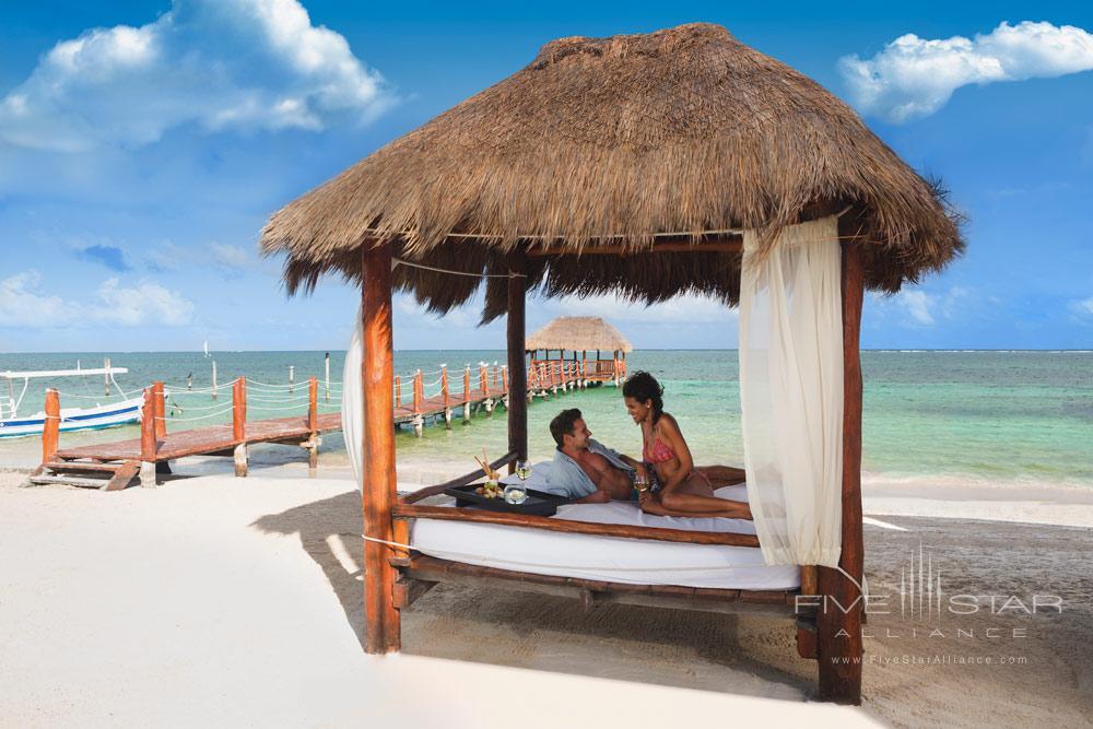 Beach Palapa at Azul Beach HotelPuerto MorelosMexico