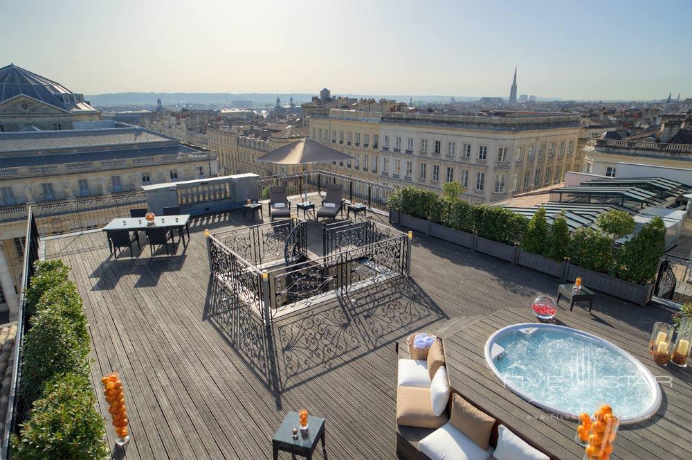 Royal Suite Terrace at InterContinental BordeauxFrance