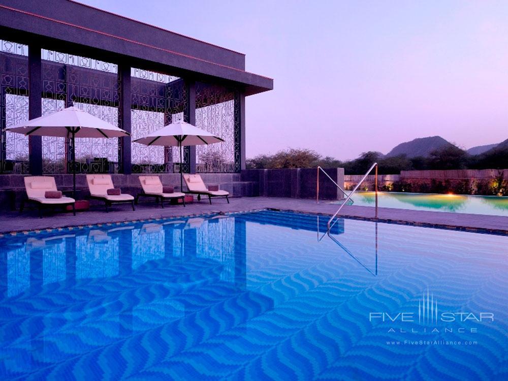 Main pool at Lebua Resort JaipurRajasthanIndia