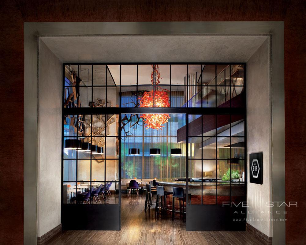 Entrance to The Ritz Bar at The Ritz-CarltonTorontoCanada