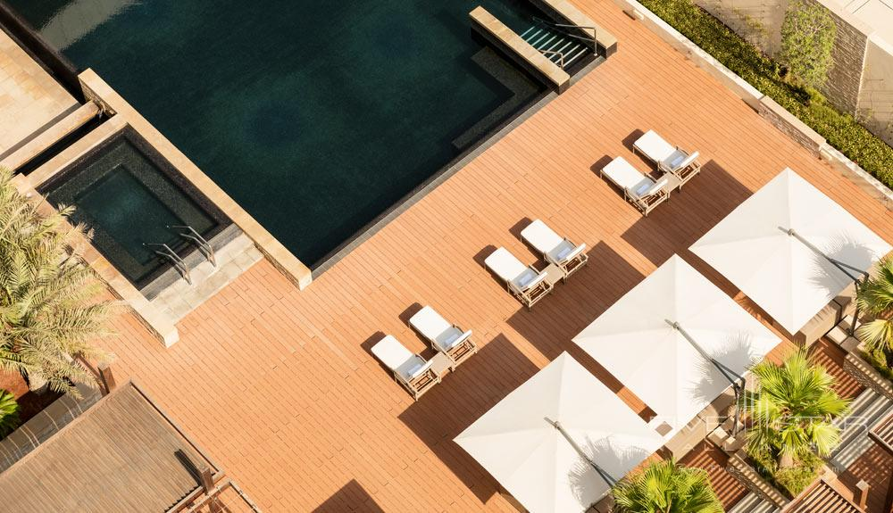 Aerial Pool View at Le Meridien Bahrain City Centre