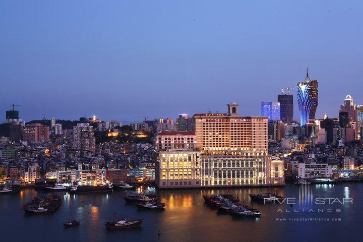 Sofitel Macau at Ponte 16 Exterior at Night